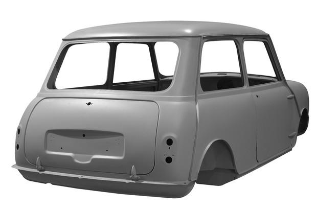 Vidros corrediços eram a única opção do Mini MK1 1959 (Foto: Divulgação)