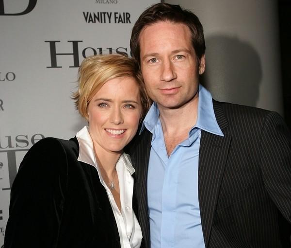David Duchovny e Téa Leoni  (Foto: Getty Images)