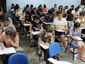 Candidatos que concorrem às vagas nos processos seletivos 2015 da Universidade do Estado do Pará (Uepa) farão as primeiras provas em novembro deste ano. (Foto: Mácio Ferreira/ascom Uepa)