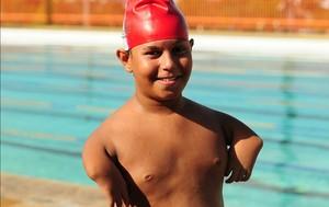 Lucas Amorim Jogos Escolares do AM (Foto: Michael Dantas/Sejel)
