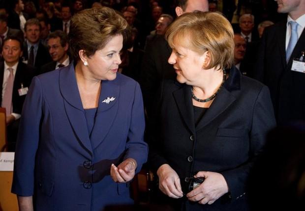 Merkel viaja ao Brasil para consolidar relação de parceria preferencial