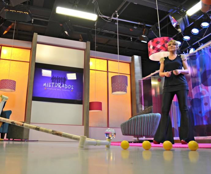 Mistura com Rodaika Estúdio novo cenário (Foto: Otávio Daros/RBS TV)