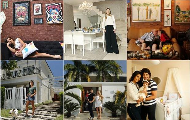 Relembre as 11 casas mais bonitas dos famosos que receberam o EGO (Foto: Marcos Serra Lima - Celso Tavares - Anderson Barros / EGO)
