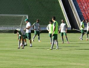 Taça Minas: Treino Uberlândia  Esporte no Parque do Sabiá (Foto: Felipe Santos/GLOBOESPORTE.COM)