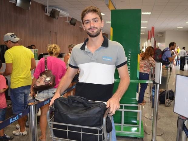 Hiago Parente, de 18 anos esteve em Santarém passando o Natal e Réveillon (Foto: Adonias Silva/G1)