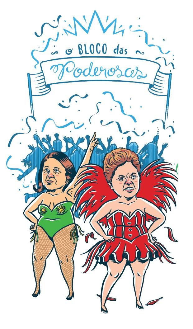 Bloco das Poderosas (Foto: Estúdio Rufus)