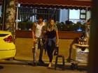 Lua Blanco e Fiuk curtem noite no Rio
