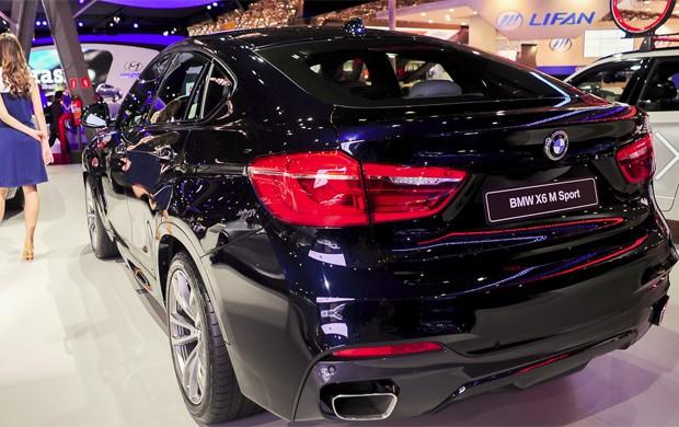 BMW X6 (Foto: Alan Morici/G1)