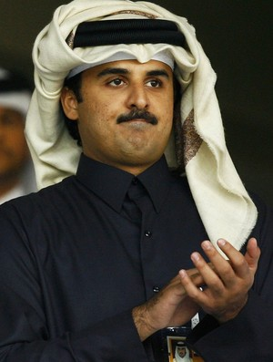 Tamim bin Hamad Al-Thani, Xeique do Catar (Foto: Getty Images)