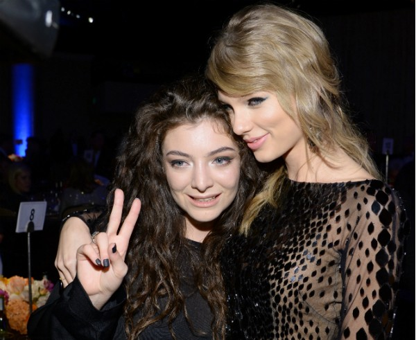 As cantoras Lorde e Taylor Swift (Foto: Getty Images)