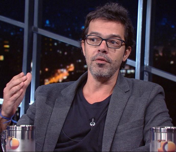 Bruno Mazzeo participa do 'Programa do Jô' (Foto: Reprodução)
