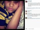 Filho de Naldo posta música religiosa e cantor responde: 'Te amo'