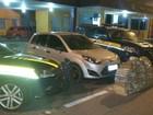 PRF de Juiz de Fora apreende mais de 200 kg de maconha em carro roubado
