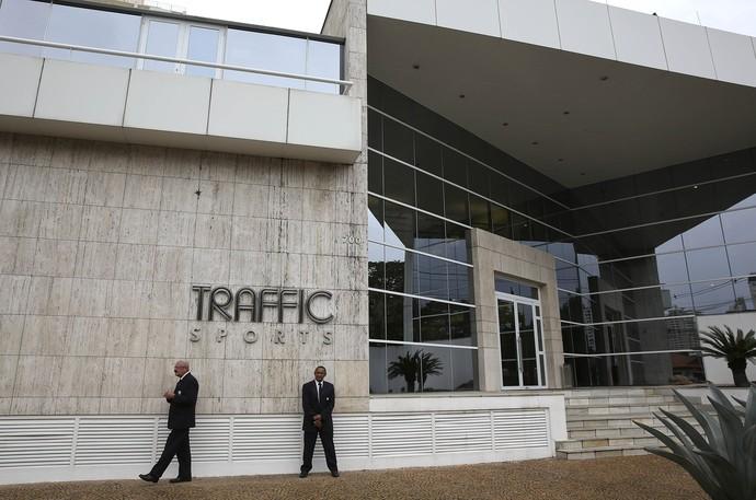 Sede da Traffic em São Paulo José Hawilla (Foto: AP)