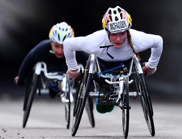 Tatyana McFadden, atleta que nasceu na Rússia e que foi naturalizada americana (Foto: Getty Images)