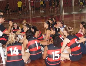 Flamengo vôlei infantil (Foto: Flávio Dilascio)