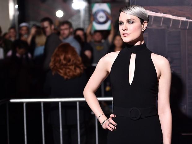 Evan Rachel em première de filme em Los Angeles, nos Estados Unidos (Foto: Alberto E. Rodriguez/ Getty Images/ AFP)