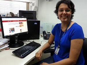 Roberta Oliveira do portal G1 (Foto: Divulgação)