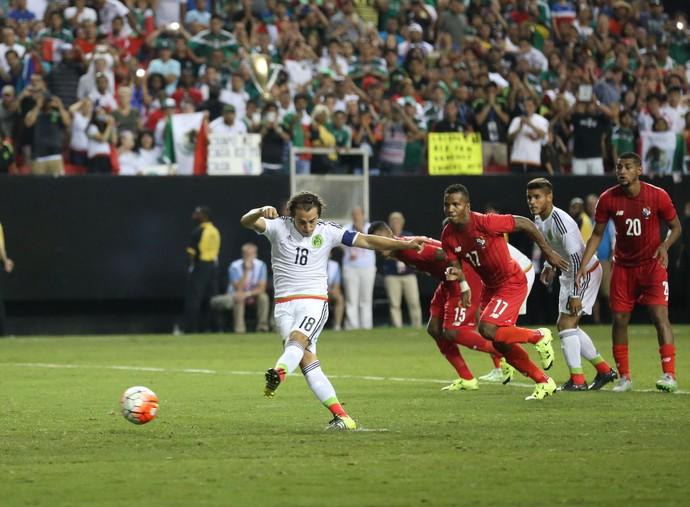 México 2 x 1 Panamá Copa Ouro (Foto: Reuters)