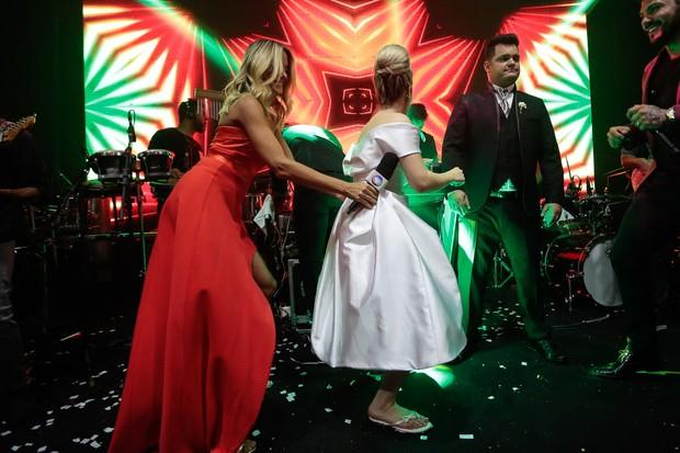 Casamento Naiara Azevedo - Ticiane Pinheiro (Foto: Rafael Cusato/ Brazil News)