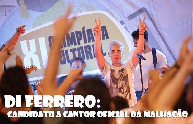 Di Ferrero: candidato a cantor oficial de Malhação! (Foto: Malhação / TV Globo)