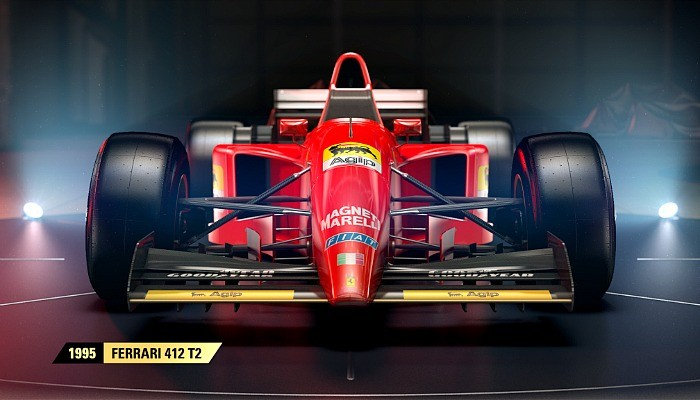 Ferrari de 1995 estará no game F1 2017