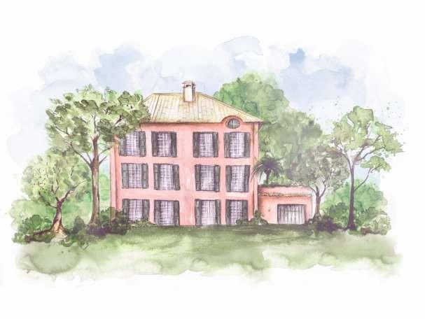 Casa Rosa (Foto: ilustração: camila gray)