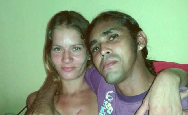 Iraneide Silva morreu na hora e Andrely Souza ainda chegou a ser socorrido (Foto: Reprodução/Facebook)