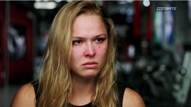 Ronda Rousey MMA TUF 18 UFC (Foto: Reprodução/ Combate)