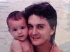 A cara do pai! Luan Santana abre álbum de família e prepara churrasco