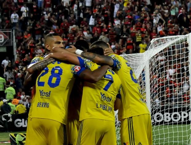 Flamengo x Coritiba comemoração
