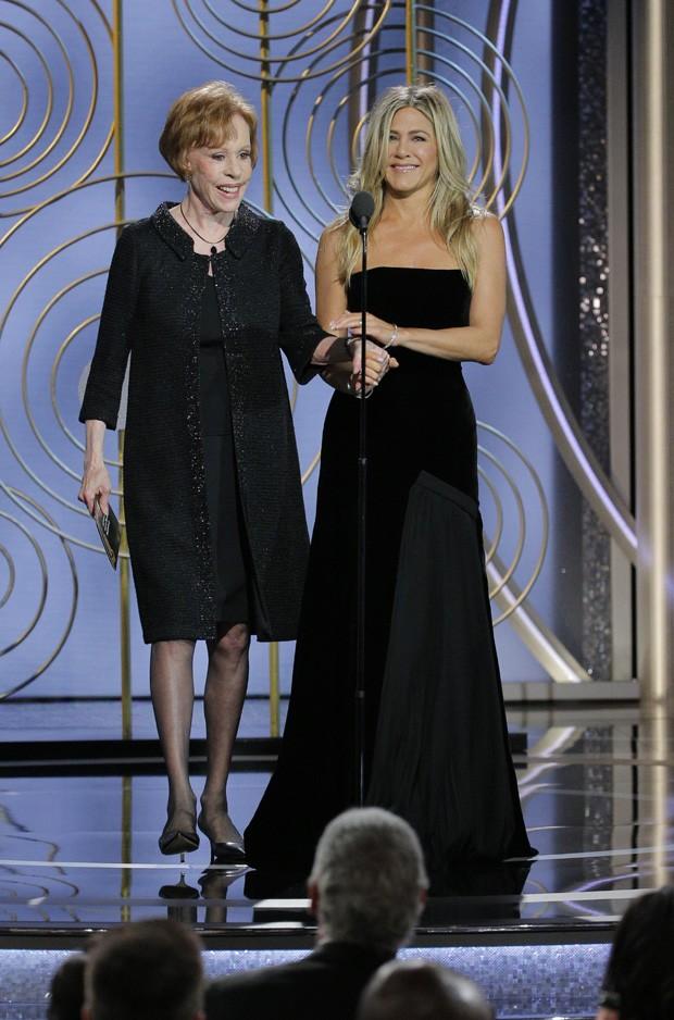 Carol Burnett e Jennifer Aniston  (Foto: Getty Images)