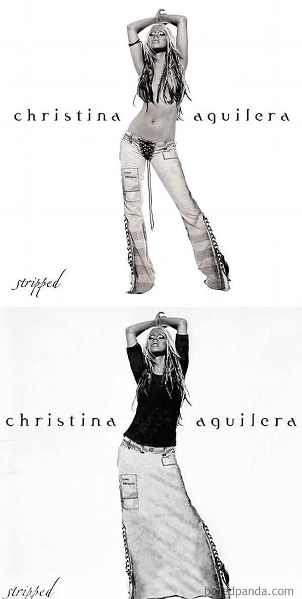 Christina Aguilera (Foto: Bored Panda)