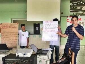 Semana da Mulher vai contar com atividades em escolas de Cruzeiro do Sul  (Foto: Anny Barbosa/G1)