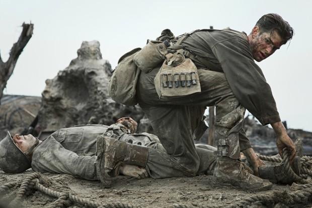 Andrew Garfield em 'Até o Último Homem' (Foto: Divulgação)