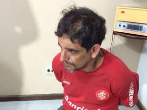 Suspeito conhecido como 'Cigano' (Foto: Sidney Pereira / TV Mirante)