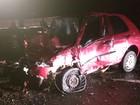Seis pessoas morrem em acidente entre dois carros na BR-020, em GO