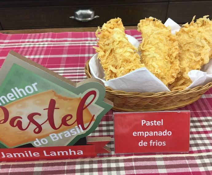 Pastel Empanado de Frios (Foto: Daniela Meira/TV Globo)