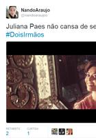 'Dois Irmãos': estreia bomba na web e internautas elogiam Juliana Paes
