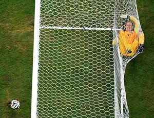 Joe Hart Inglaterra x Itália (Foto: Reuters)