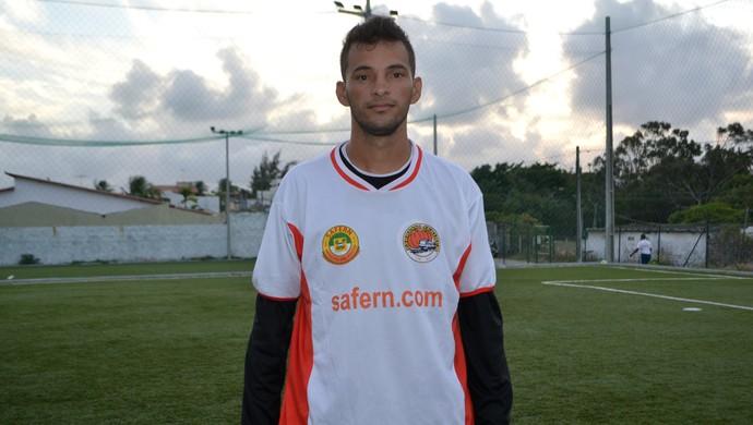 RN - Safern - Renato, goleiro (Foto: Jocaff Souza/GloboEsporte.com)