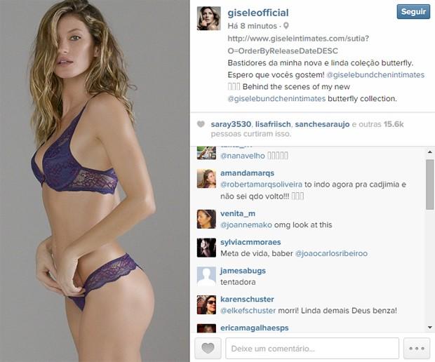 Gisele Bündchen (Foto: Reprodução/ Instagram)