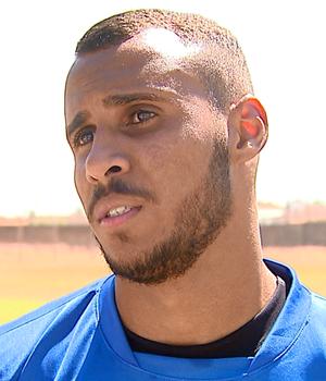 Willian Dias, atacante do São Carlos  (Foto: Paulo Chiari/EPTV)
