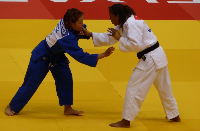 Rafaela Silva x Sumiya Dorjsuren, Mundial de Judô (Foto: Raphael Andriolo)