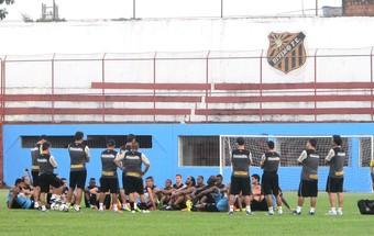 Treino Botafogo estádio Divino FC (Foto: Fred Huber)