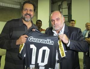 Agnelo Queiroz e Maurício Assumpção (Foto: Divulgação/BFR)