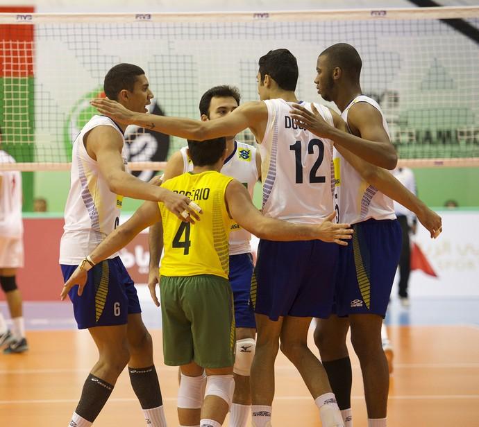 Brasil vôlei Mundial sub-23 (Foto: Divulgação / FIVB)