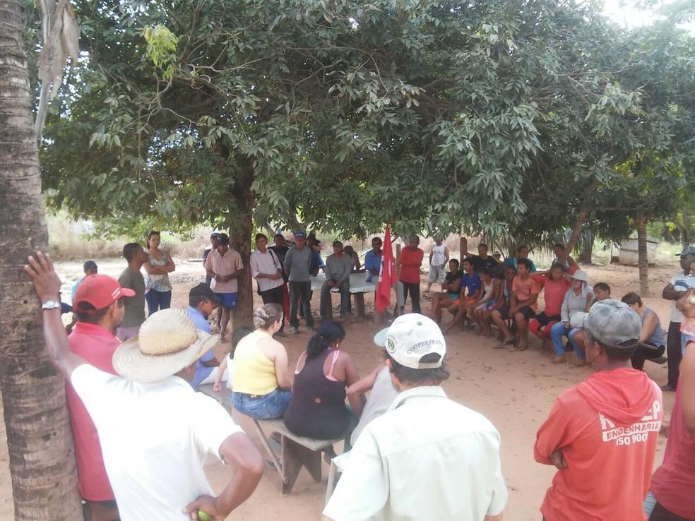 Justiça suspendeu desocupação de 500 famílias na fazenda (Foto: MST/Divulgação)