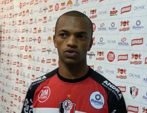 Marcus Winícius Vinícius volante Joinville JEC (Foto: Karen Couto/RBS TV)