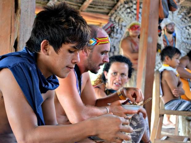 Zanette partipa de um festival indígena pela segunda vez (Foto: Veriana Ribeiro/G1)